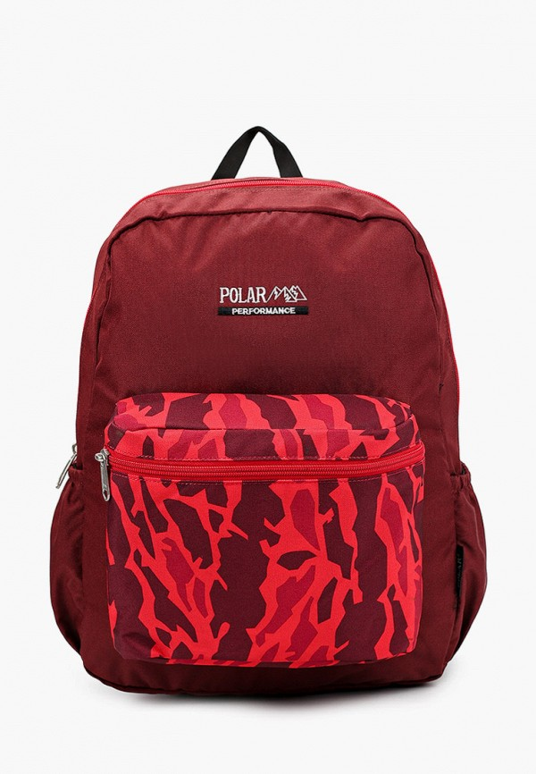 рюкзак polar малыши, бордовый