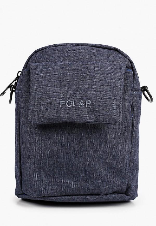 мужская сумка polar, синяя