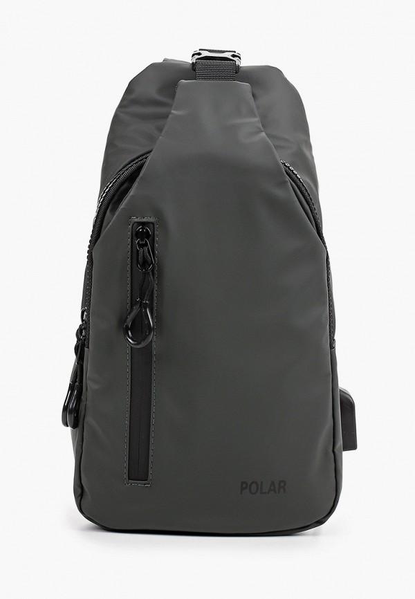 мужской рюкзак polar, серый