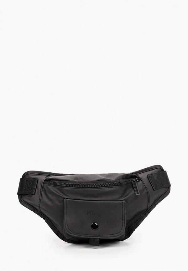 мужская сумка polar, черная