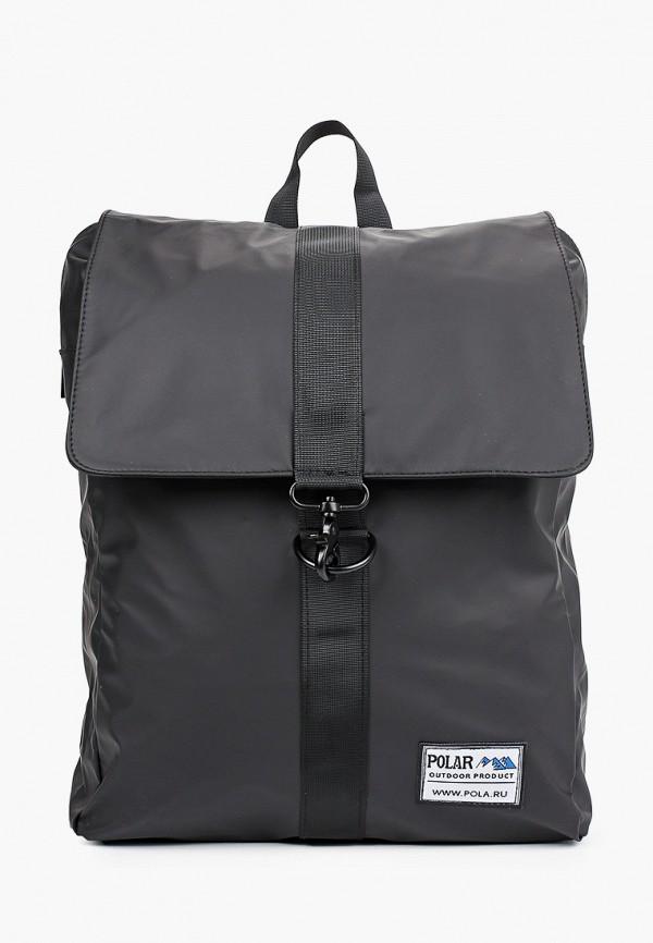 мужской рюкзак polar, черный