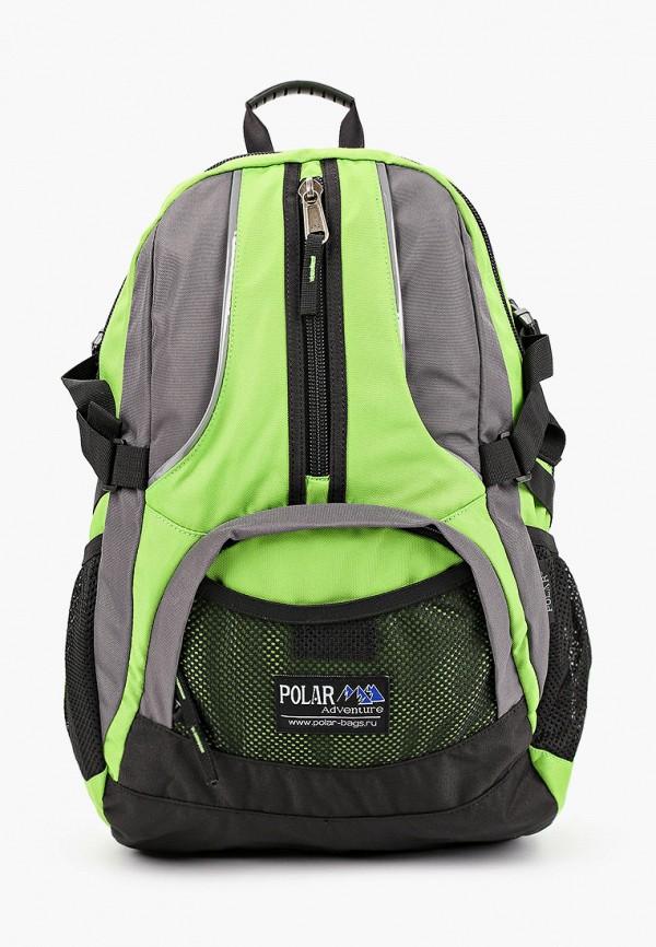 мужской рюкзак polar, зеленый