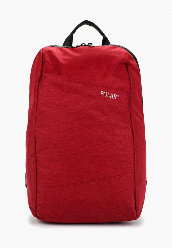 мужской рюкзак polar, красный