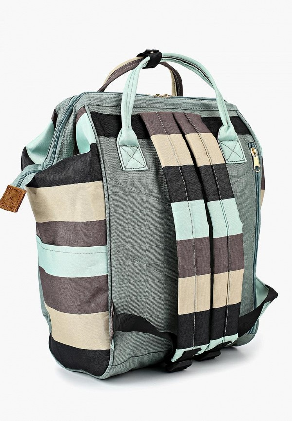 Фото 2 - мужской рюкзак Polar разноцветного цвета