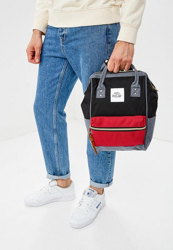 Фото 5 - мужской рюкзак Polar разноцветного цвета