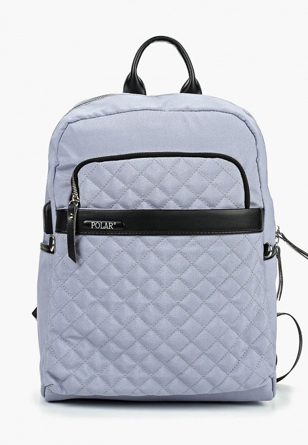 женский рюкзак polar, серый