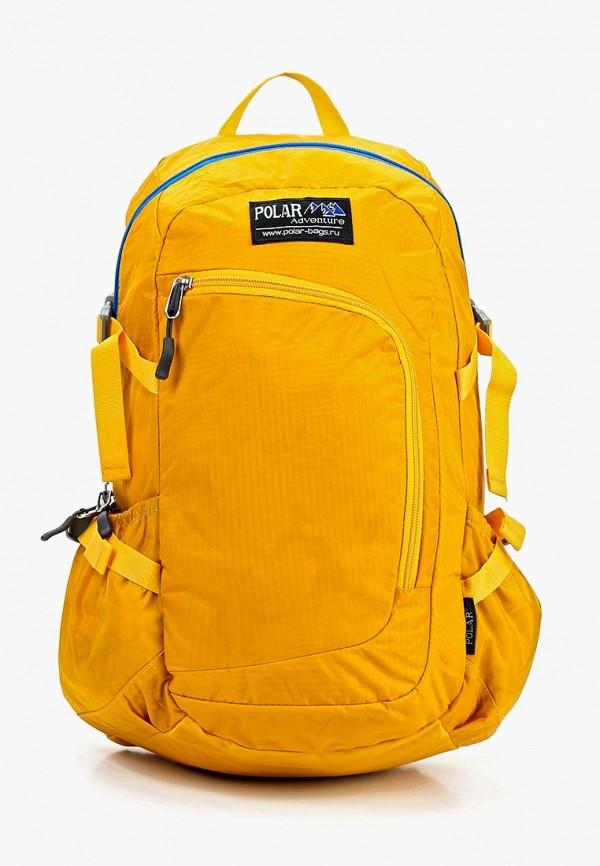 женский рюкзак polar, желтый