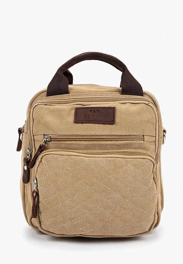 женский рюкзак polar, бежевый
