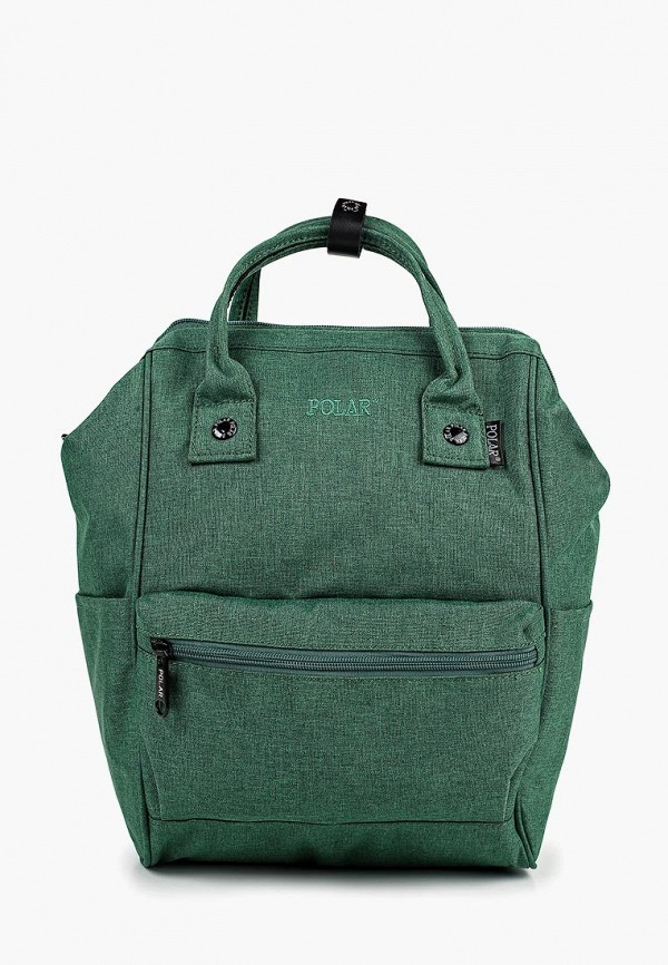 женский рюкзак polar, зеленый