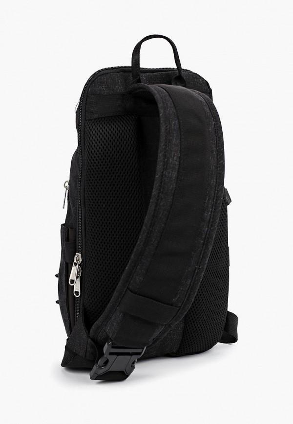 Фото 2 - Мужской рюкзак Polar черного цвета