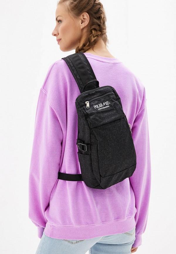 Фото 4 - Мужской рюкзак Polar черного цвета