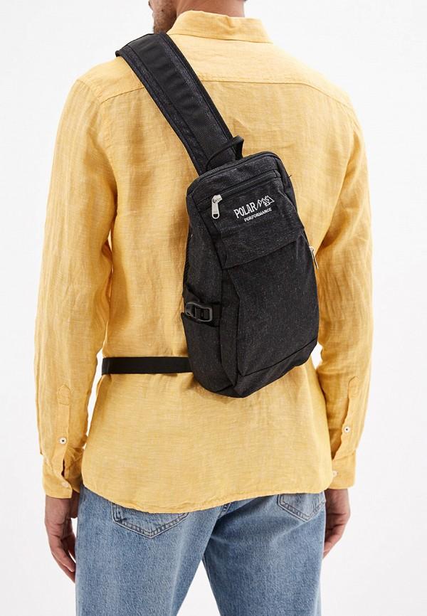 Фото 5 - Мужской рюкзак Polar черного цвета