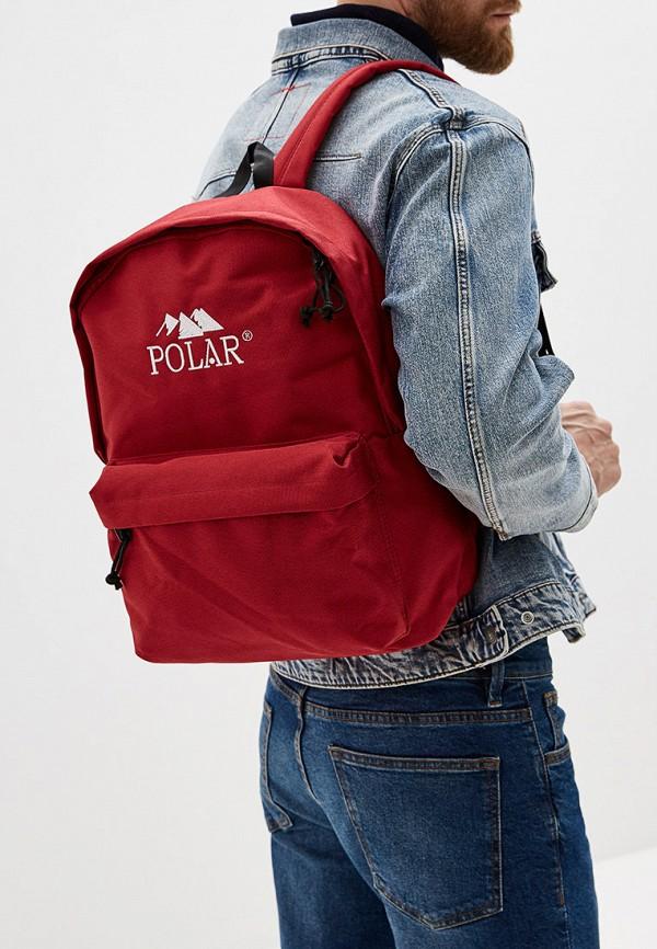 Фото 5 - мужской рюкзак Polar красного цвета
