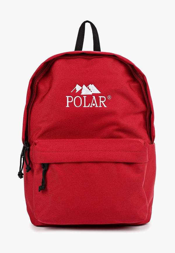 женский рюкзак polar, красный