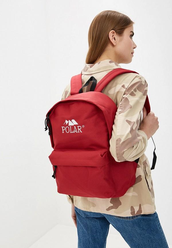 Фото 4 - мужской рюкзак Polar красного цвета