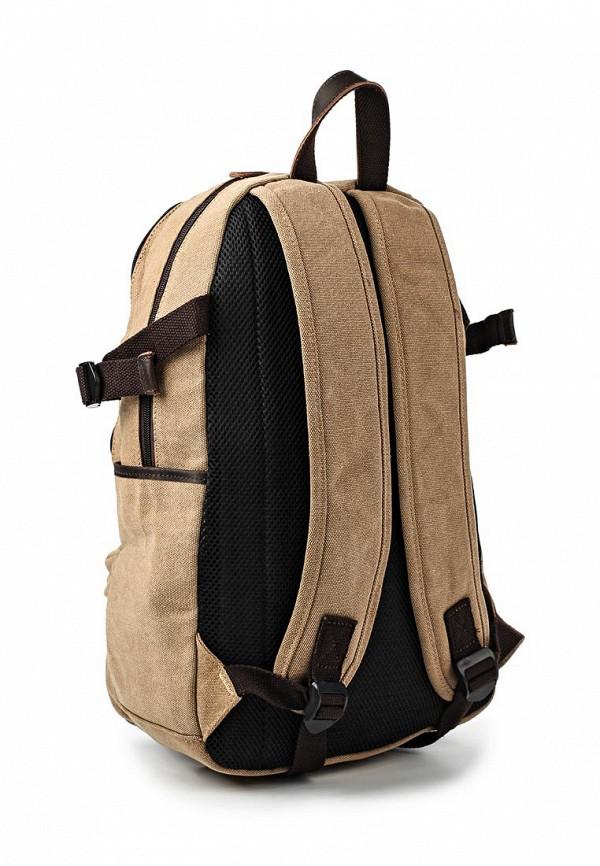 Фото 2 - мужской рюкзак Polar бежевого цвета