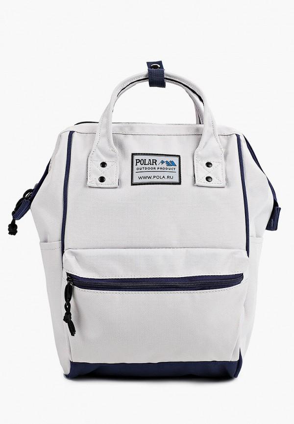женский рюкзак polar, белый