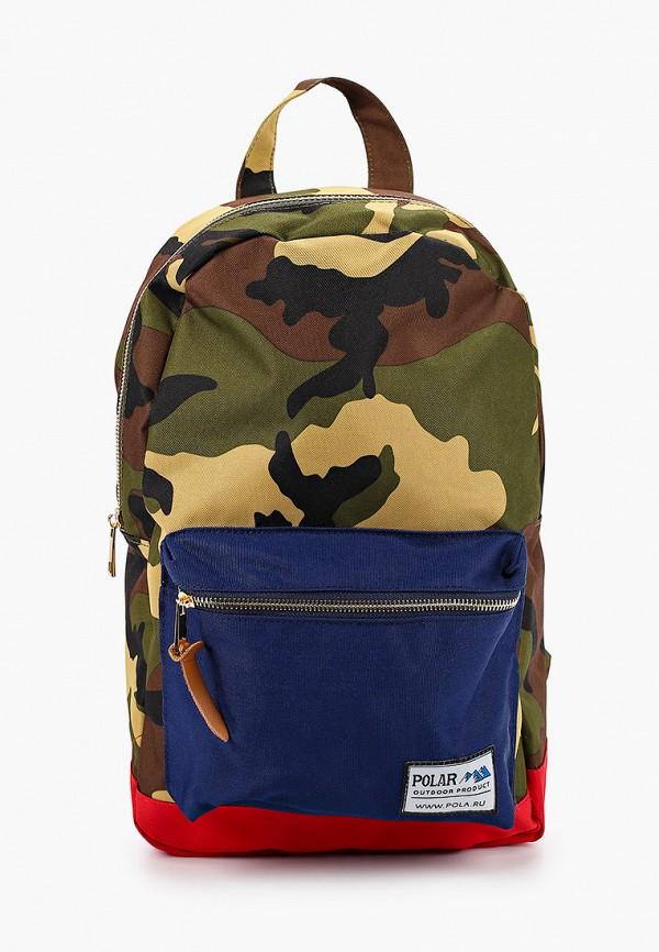 женский рюкзак polar, хаки
