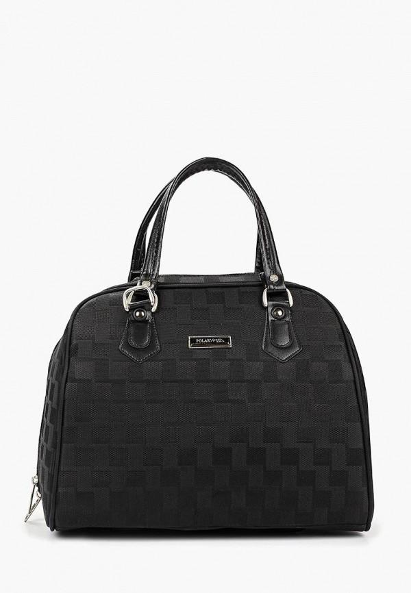Фото 2 - женскую сумку Polar черного цвета