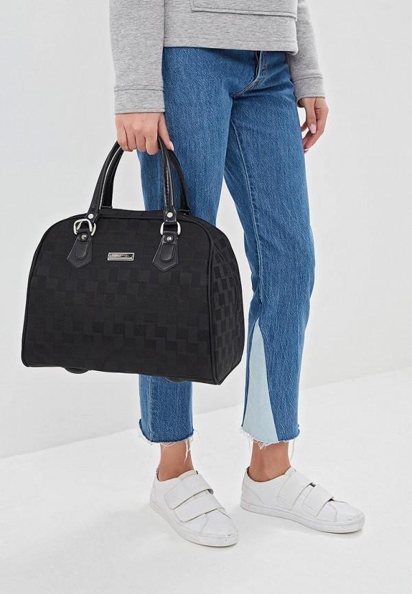 Фото 4 - женскую сумку Polar черного цвета