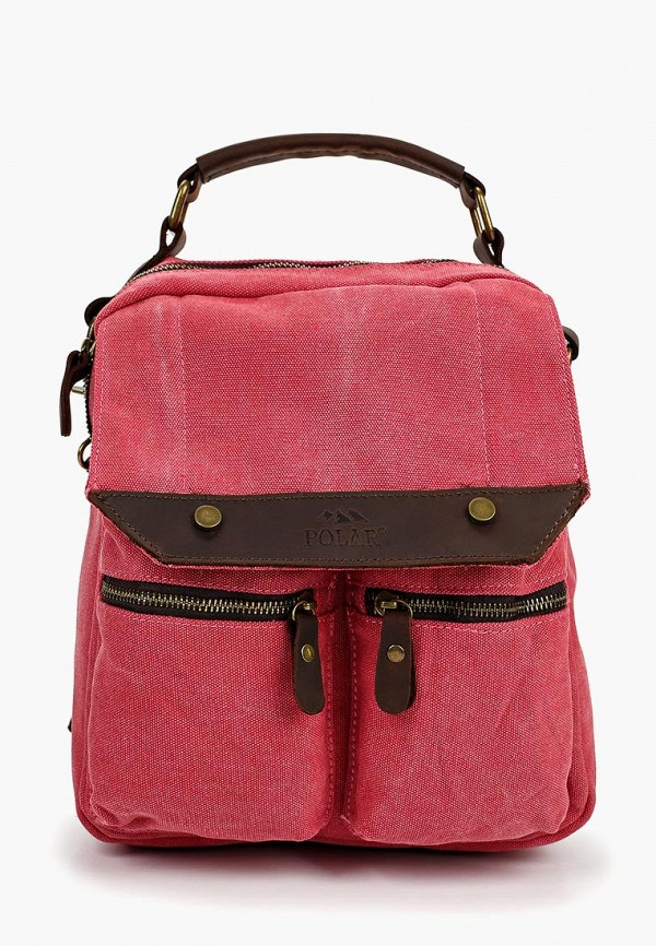 Фото - женский рюкзак Polar розового цвета