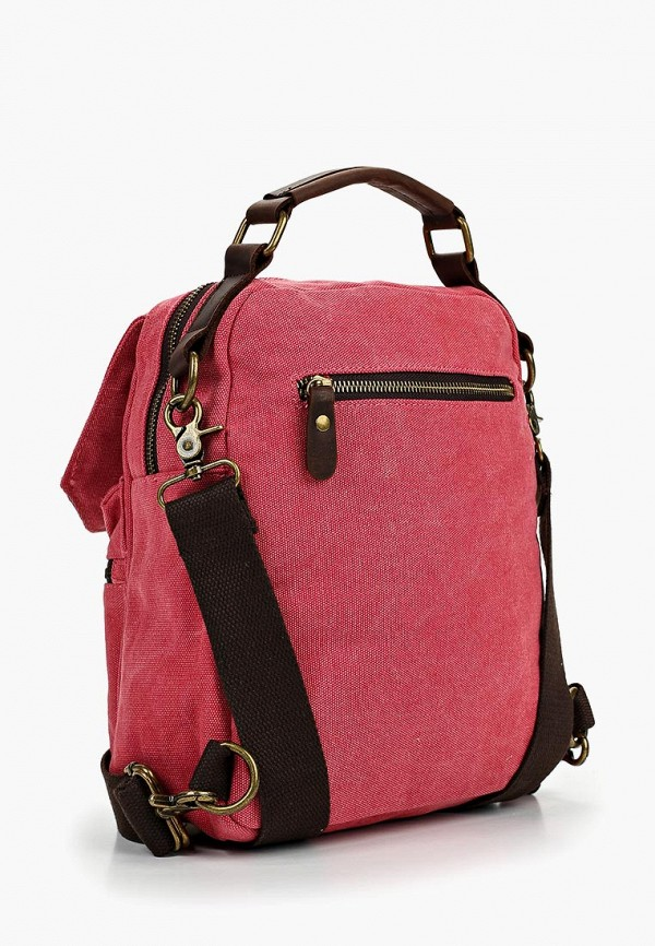 Фото 2 - женский рюкзак Polar розового цвета