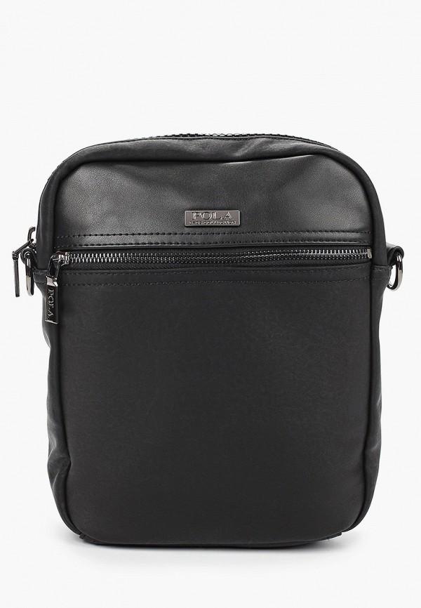 мужская сумка pola, черная
