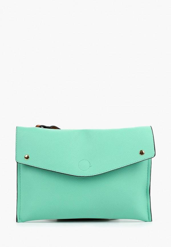 женская сумка pola, бирюзовая