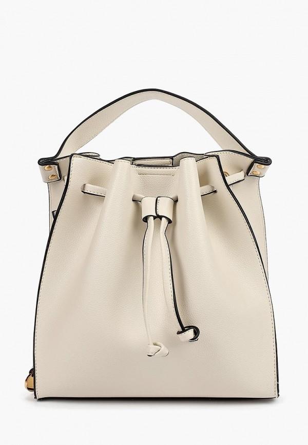 женская сумка pola, бежевая