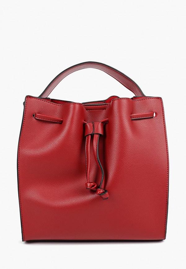 женская сумка pola, красная