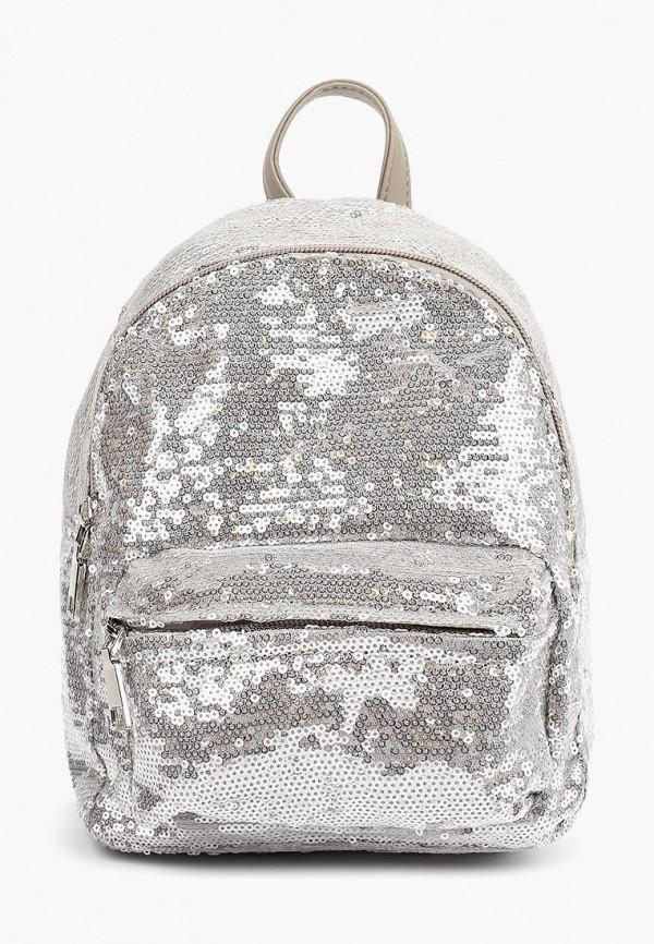 женский рюкзак pola, серебряный