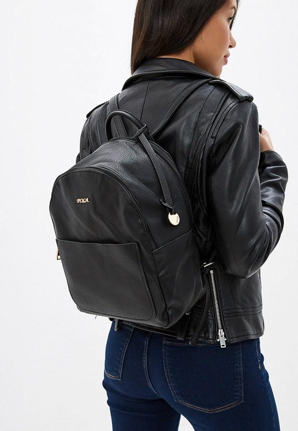 Фото 4 - Женский рюкзак Pola черного цвета