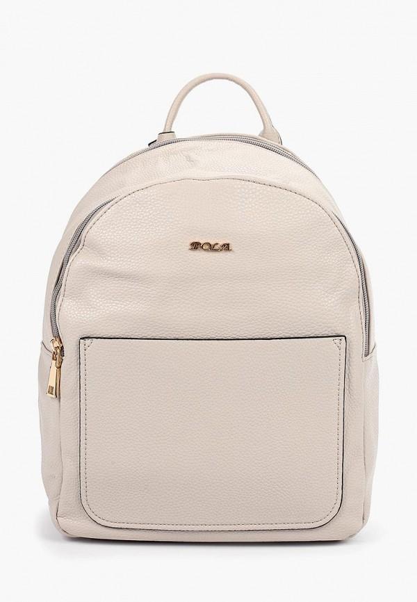 женский рюкзак pola, бежевый