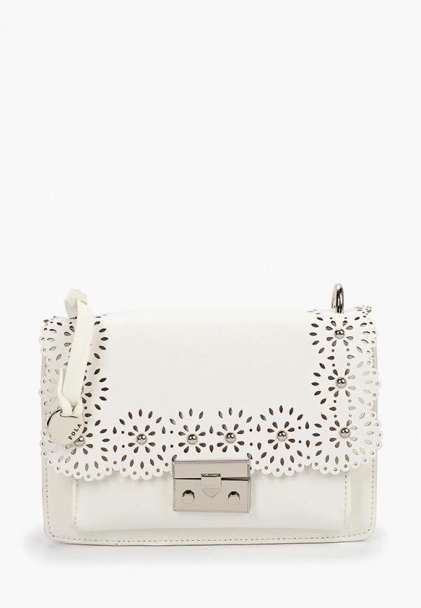 Фото - Женскую сумку Pola белого цвета