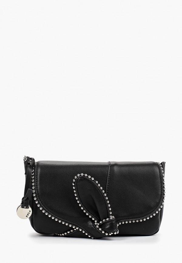 Фото - Женскую сумку Pola черного цвета