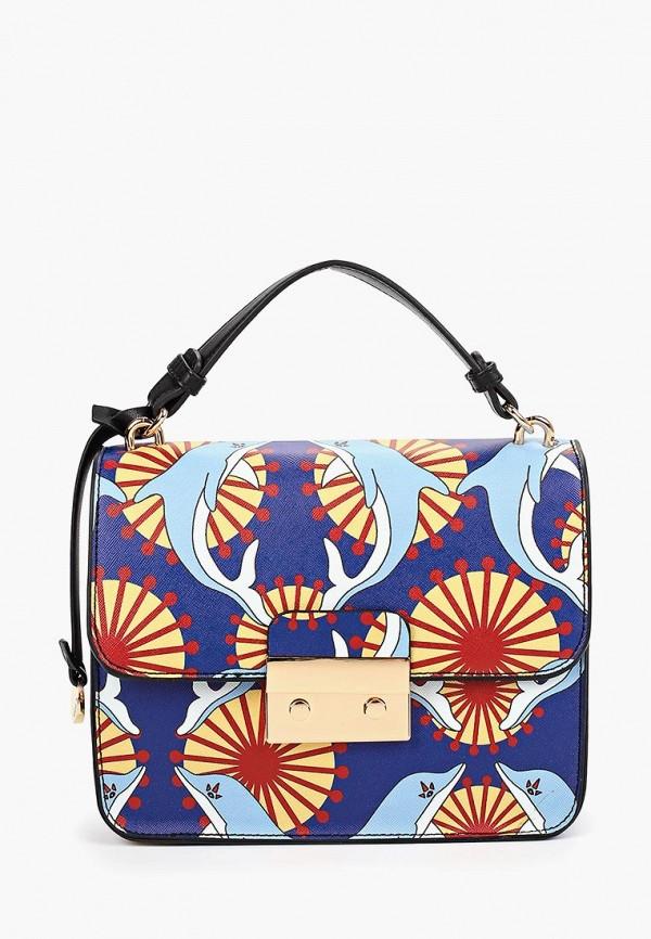 Фото - Женскую сумку Pola синего цвета