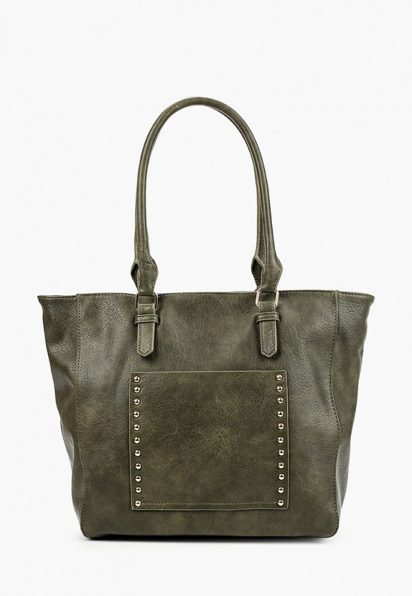 женская сумка pola, зеленая