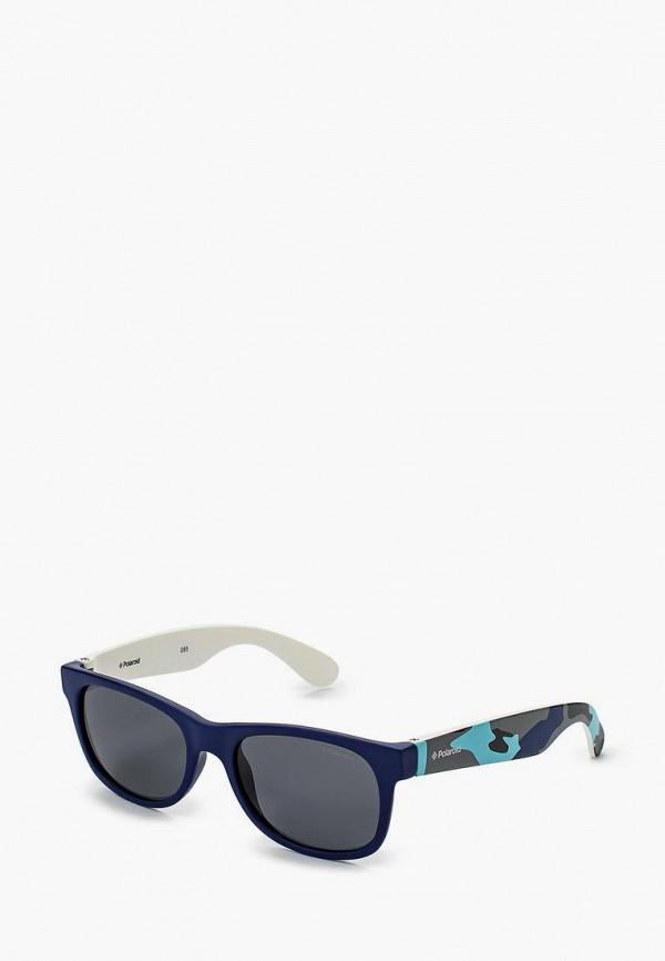солнцезащитные очки polaroid для мальчика, синие