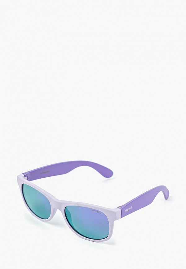 солнцезащитные очки polaroid для девочки, фиолетовые