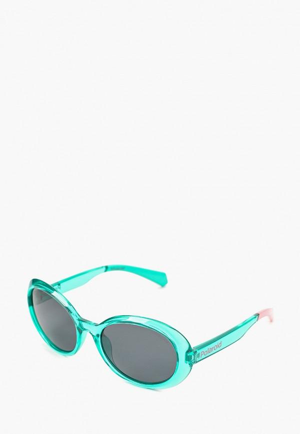 солнцезащитные очки polaroid для девочки, зеленые