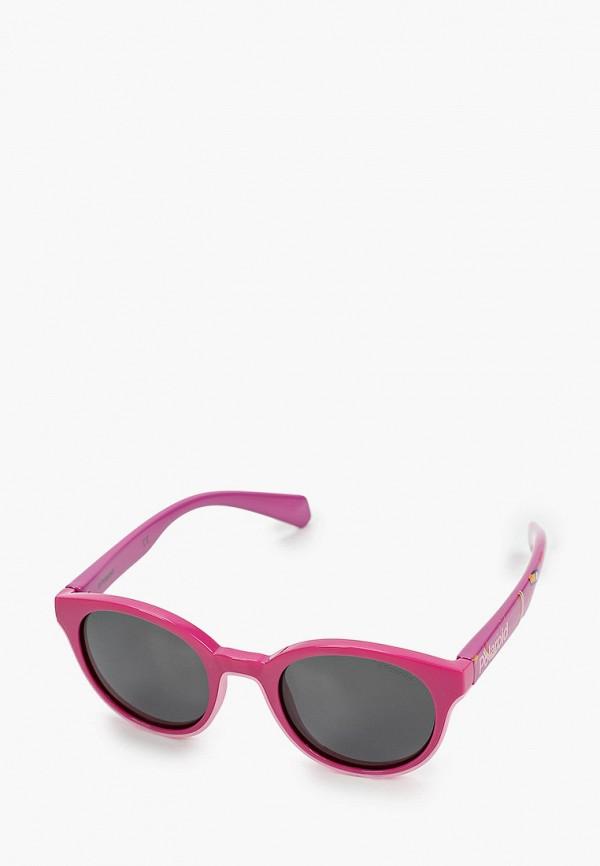 солнцезащитные очки polaroid для девочки, розовые
