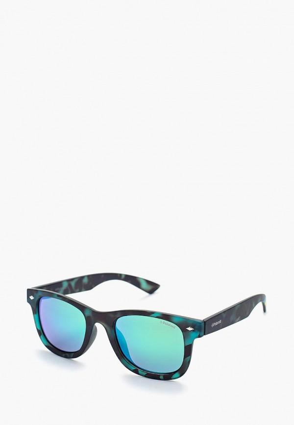 солнцезащитные очки polaroid малыши, зеленые