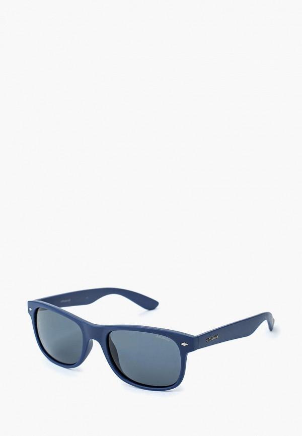 мужские солнцезащитные очки polaroid, синие