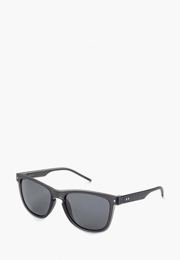 мужские солнцезащитные очки polaroid, серые