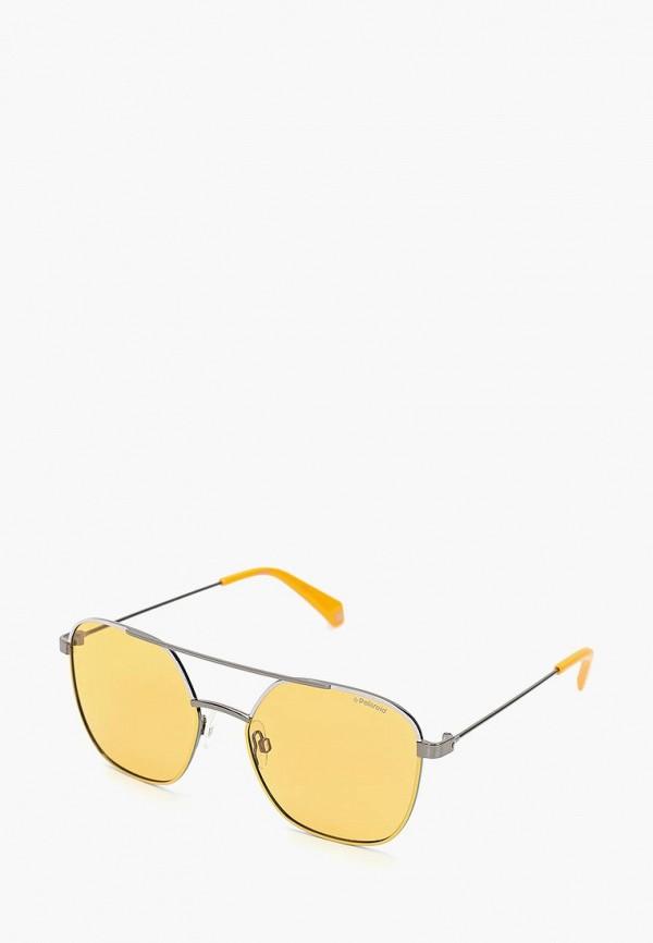 Очки солнцезащитные Polaroid Polaroid PO003DUCWNR8 очки солнцезащитные polaroid polaroid po003dbwnt33