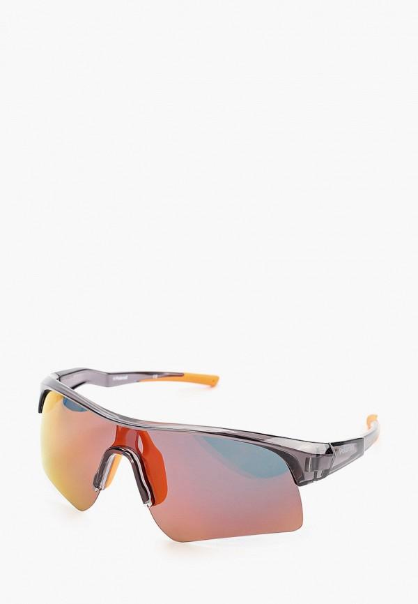 женские солнцезащитные очки polaroid, оранжевые