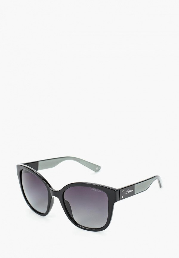 женские солнцезащитные очки polaroid, черные