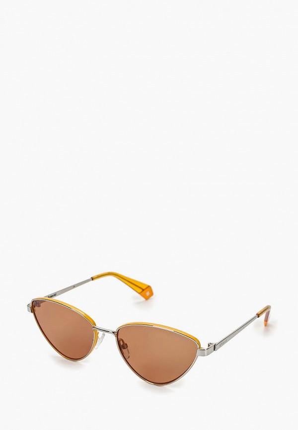 Очки солнцезащитные Polaroid Polaroid PO003DWEREU7 очки солнцезащитные polaroid polaroid po003dmeres4