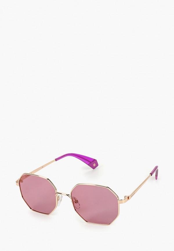 Очки солнцезащитные Polaroid Polaroid PO003DWEREV2 очки солнцезащитные polaroid polaroid po003dmcwnq4