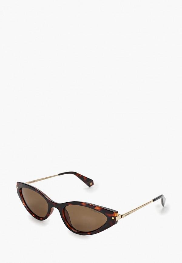 Очки солнцезащитные Polaroid Polaroid PO003DWEREW1 очки солнцезащитные polaroid polaroid po003dweret7